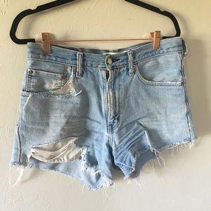 Levi's 550 High Waist Shorts